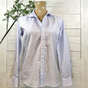 The Tailored Sportsman Stripe Button Show Shirt
